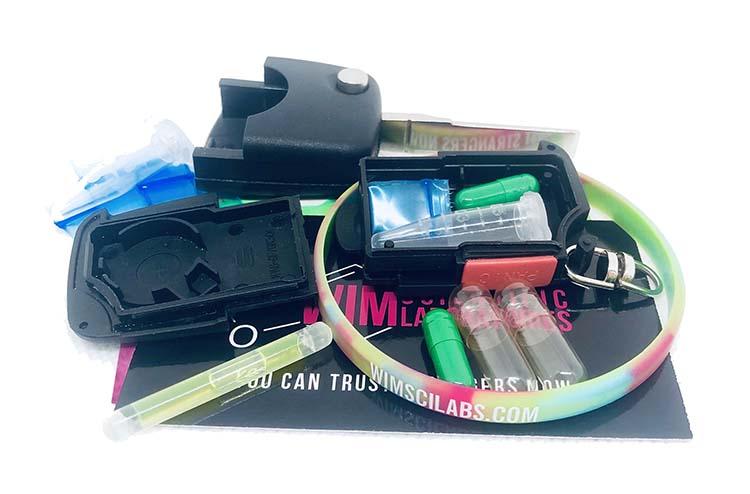 WIM - Festival Key FOB Stash Hidden Compartment